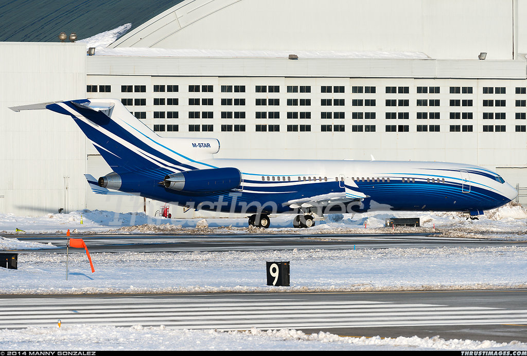 Boeing 727-2X8/Adv(RE) Super 27 M-STAR (cn 22687/1784)